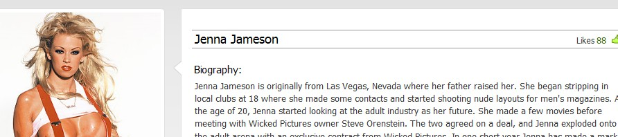 Jenna Jameson at Wicked Pcitures