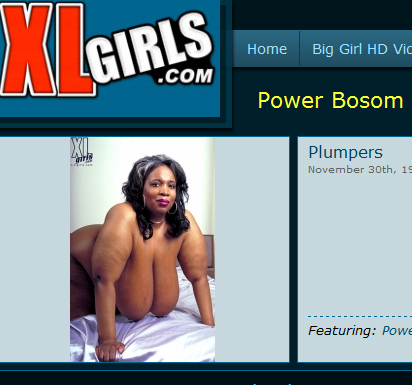 Power Bosom at XL Girls