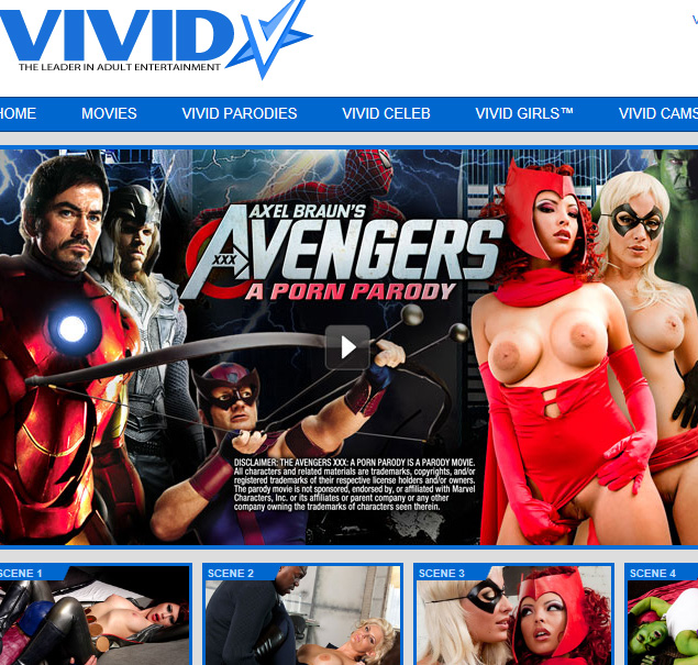 Vivid Video - Avengers parody