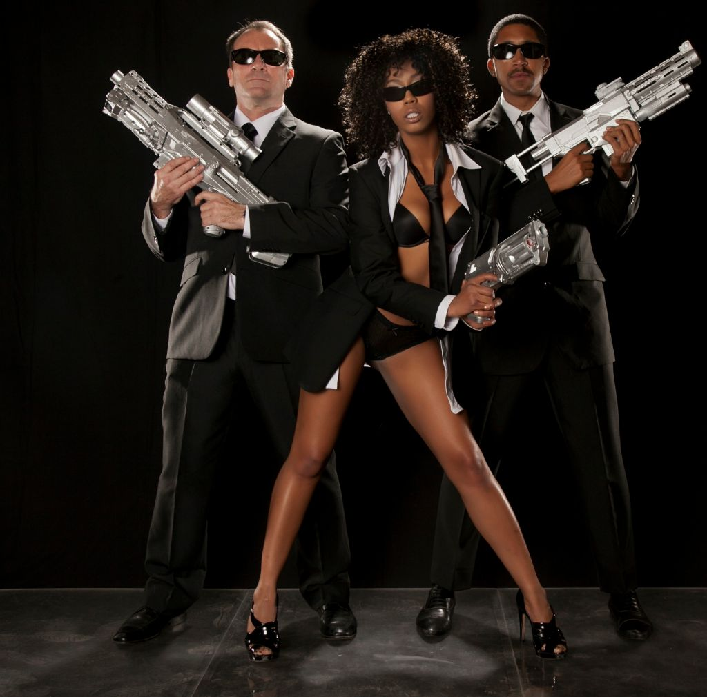 Men in Black XXX Parody