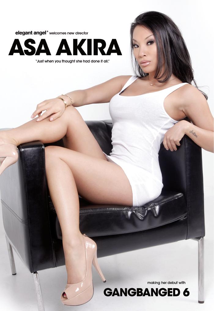 Asa Akira gangbang
