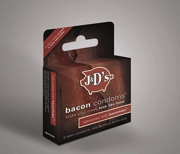 Bacon flavored condoms