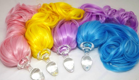 Tasha's Reignbow Pony Plugs