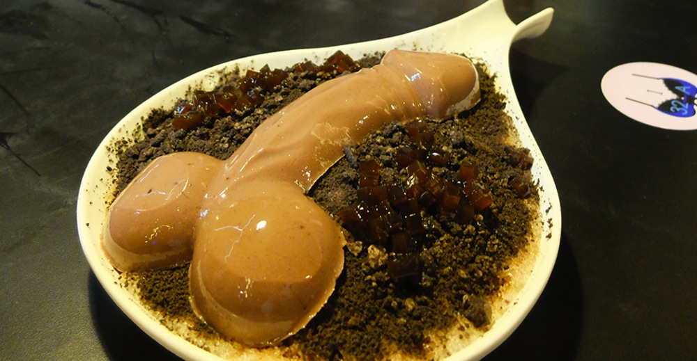 chocolate pudding penis