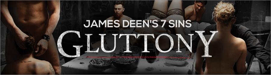 James Deen gluttony