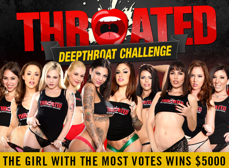 throated deep throat challenge