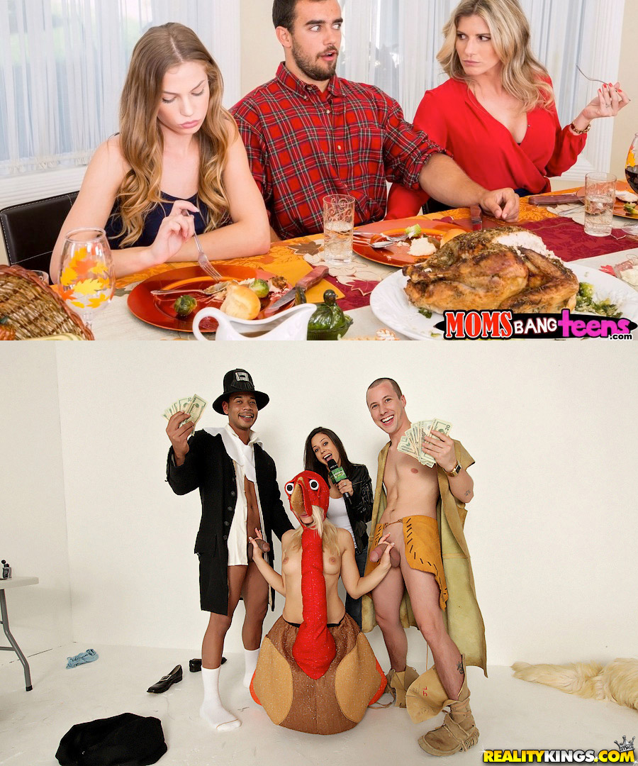Reality Kings Thanksgiving porn scenes