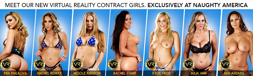 Naughty America's VR Girls
