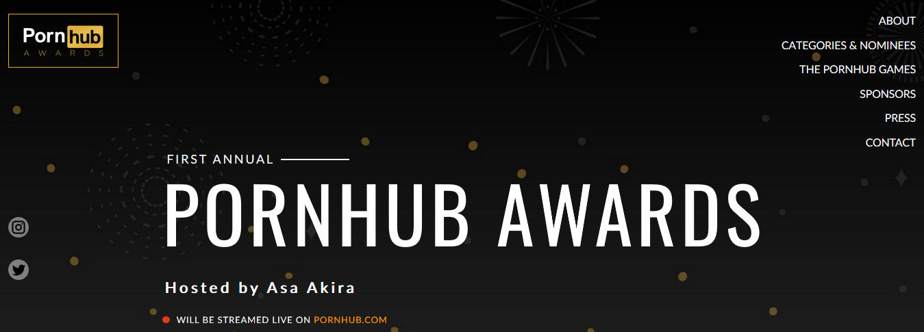 2018 PornHub Awards